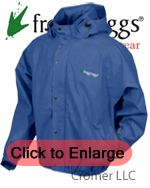 Frogg Toggs Pro Jacket Blue